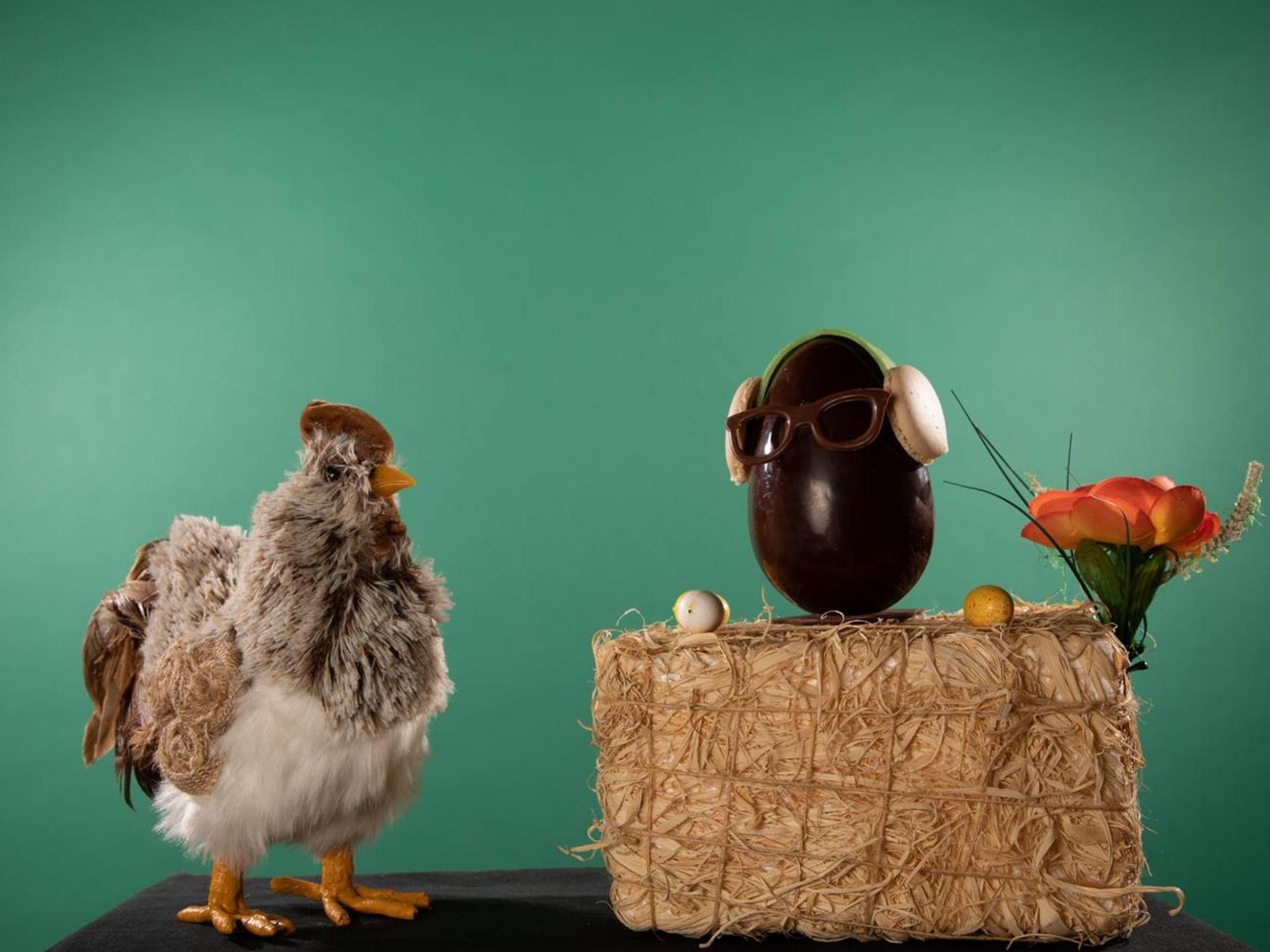 Oeuf en Chocolat - Marché des Producteurs - Les T