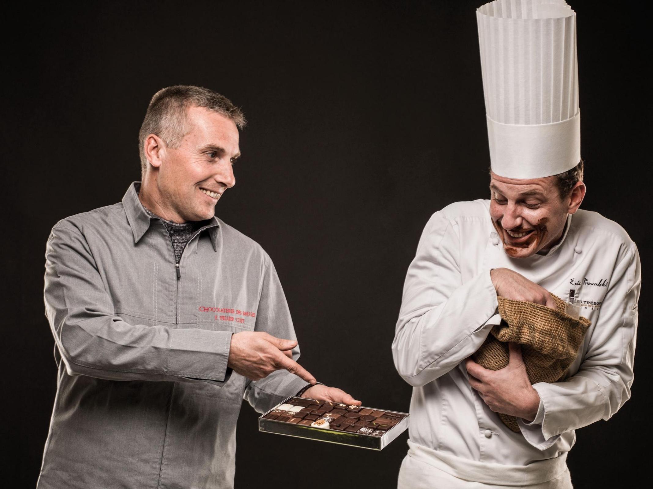 Frédéric Pellier Cuit - Chef Eric Prowalski - Marché des Producteurs - Les Trésoms Annecy