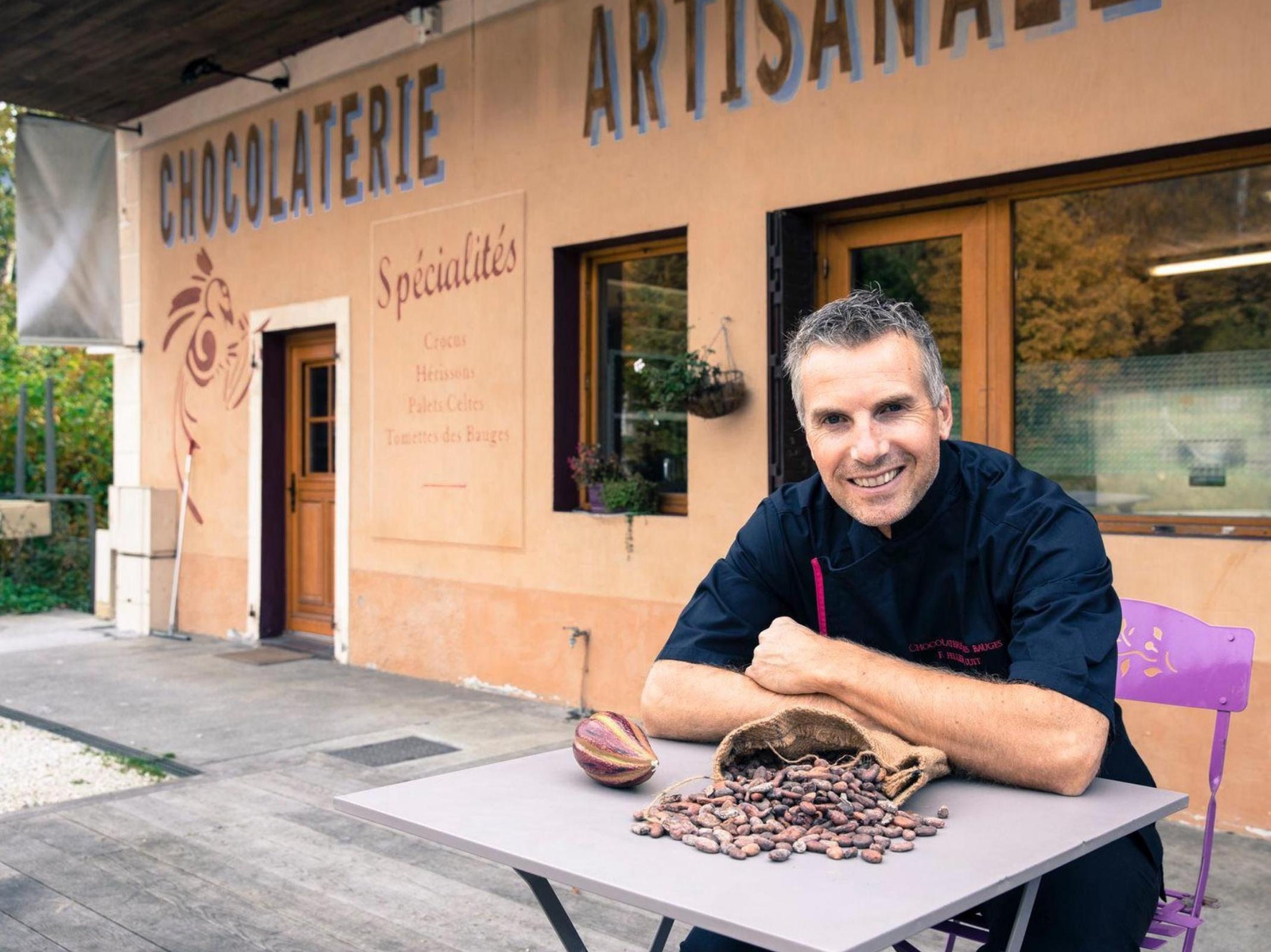 Frédéric Pellier Cuit - Chocolaterie des Bauges - Marché des Producteurs - Les Trésoms Annecy