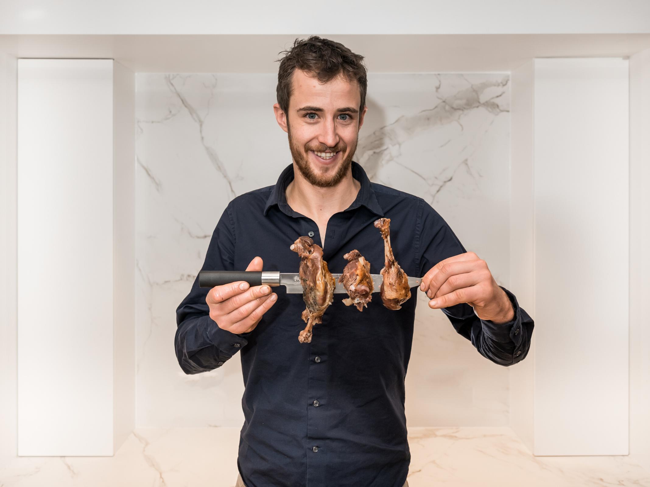 Thomas Besombes - Eleveur volailles - Marché des Producteurs - Les Trésoms Annecy