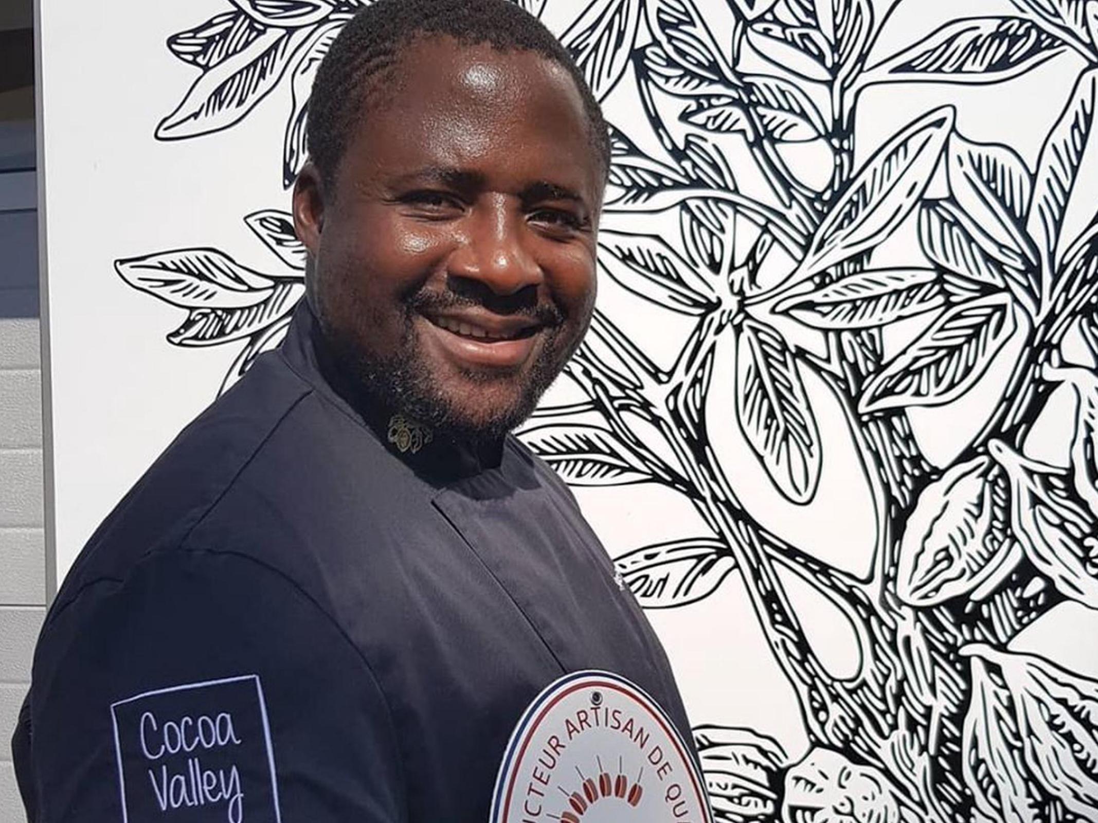 Serges Ngassa - Cocoa Valley - Marché des Producteurs - Les Trésoms Annecy