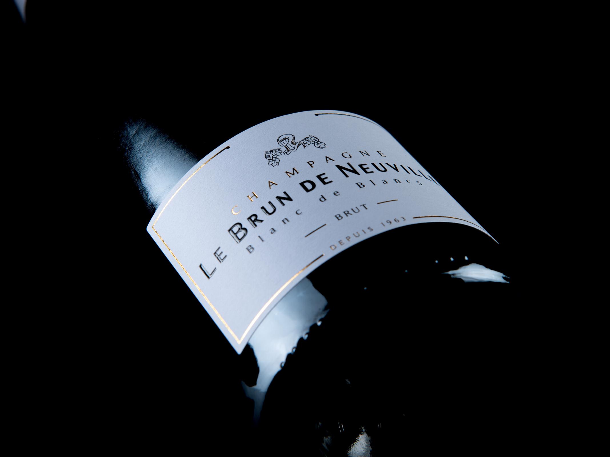 Champagne Le Brun de Neuville - Blanc de blancs brut - Marché des producteurs - Les Trésoms Annecy